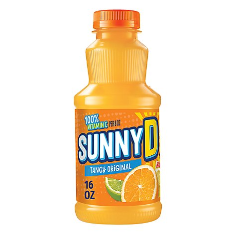 SunnyD Citrus Punch Orange Flavored - 16 Fl. Oz.