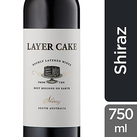Layer Cake Wine South Australia Shiraz - 750 Ml