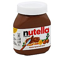 Nutella Spread Hazelnut With Cocoa - 26.5 Oz