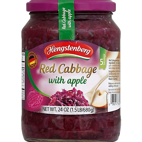 Hengstenberg Red Cabbage With Apple - 24 Oz