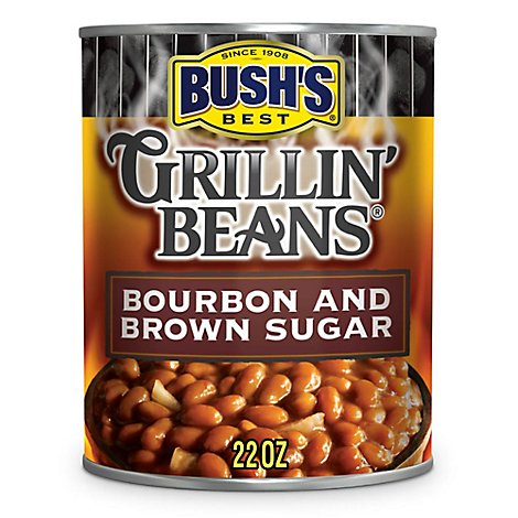 BUSHS BEST Beans Grillin Bourbon and Brown Sugar - 22 Oz