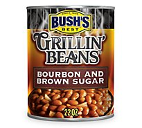 BUSHS BEST Grillin Beans Bourbon And Brown Sugar - 22 Oz