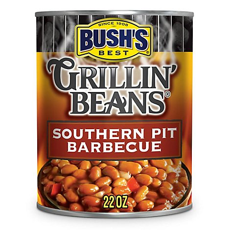 BUSHS BEST Beans Grillin Southern Pit Barbecue - 22 Oz