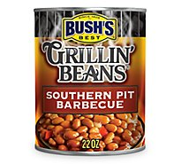 BUSHS Beans Grillin Southern Pit Barbecue - 22 Oz