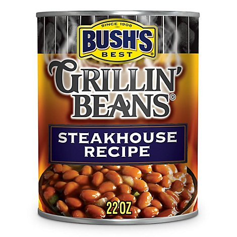 BUSHS BEST Grillin Beans Steakhouse Recipe - 22 Oz