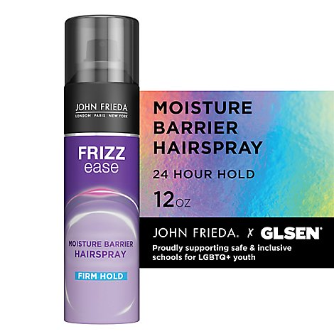 John Frieda Frizz Ease Moisture Barrier Firm Hold Hair Spray - 12 0z