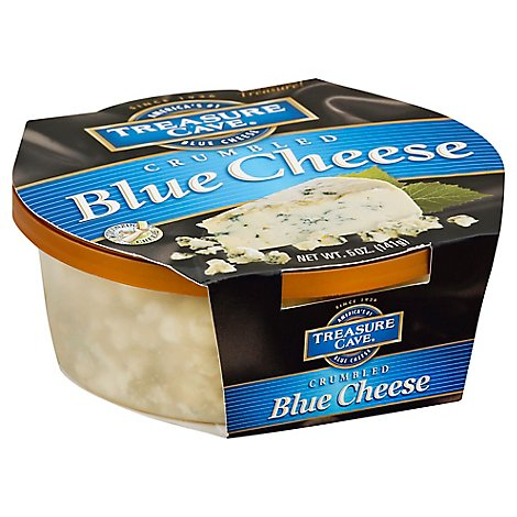 Treasure Cave Cheese Blue Crumbled - 5 Oz