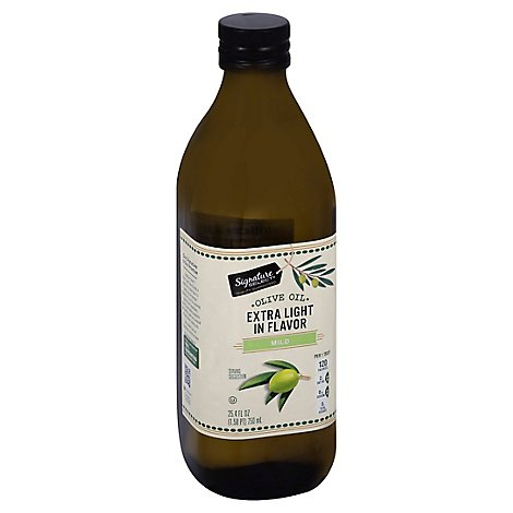 Signature SELECT Oil Olive Extra Light in Flavor - 25.4 Fl. Oz.