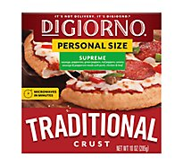 DIGIORNO Pizza Traditional Crust Supreme Frozen - 10 Oz