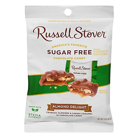 Russell Stover Sugar Free Almond Delight Candy - 3 Oz
