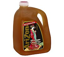 AriZona Green Tea with Ginseng Decaf-Zero - 128 Fl. Oz.