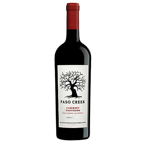 Paso Creek Cabernet Sauvignon Red Wine - 750 Ml