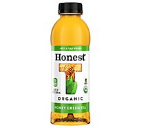 Honest Tea Organic Honey Green Tea - 16.9 Fl. Oz.