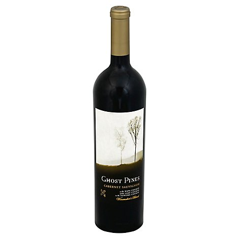 Ghost Pines Cabernet Sauvignon Red Wine - 750 Ml