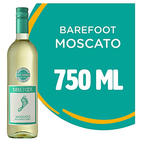 Barefoot Cellars Moscato White Wine - 750 Ml