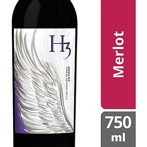 Columbia Crest H3 Wine Merlot - 750 Ml