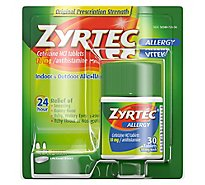 Zyrtec Allergy Adult Tablets - 30 Count