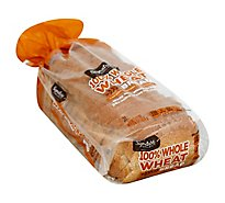 Signature SELECT Bread 100% Whole Wheat - 22 Oz
