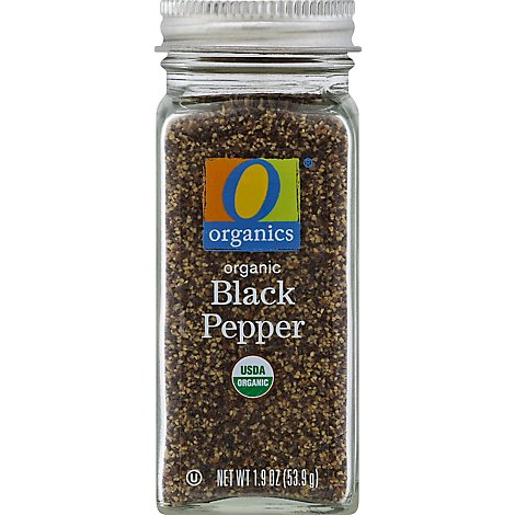 O Organics Organic Black Pepper - 1.9 Oz