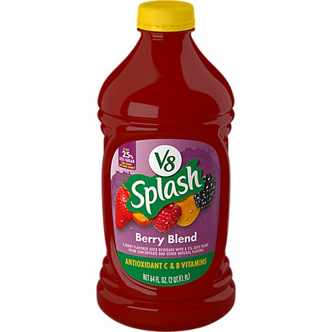 V8 Splash Berry Blend - 64 Oz