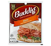 Buddig Deli Thin Ham Smoked - 2 Oz