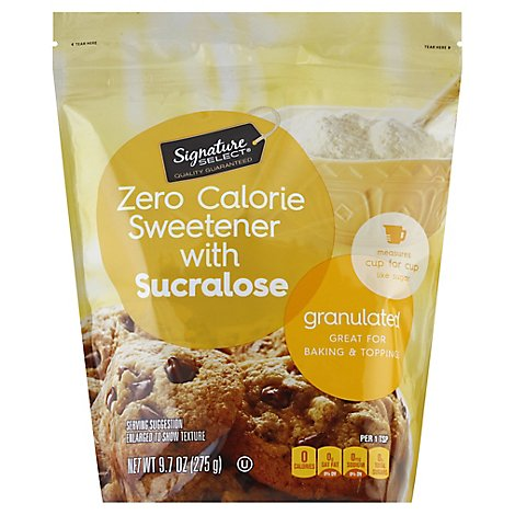 Signature Kitchens Granulated Sucralose No Calorie Sweetener - 9.7 Oz