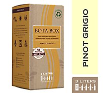 Bota Box Wine Pinot Grigio California - 3 Liter