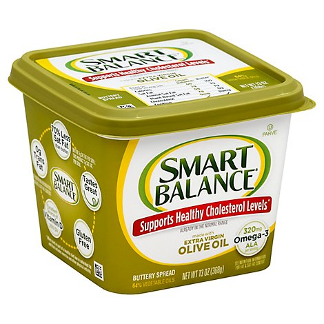Smart Balance Buttery Spread Olive Oil Extra Virgin - 13 Oz