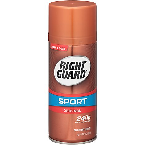 Right Guard Sport Original Aerosol Antiperspirant Deodorant - 10 Oz