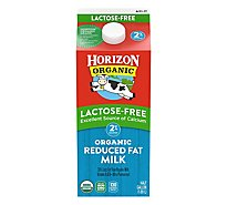 Horizon Organic Milk Lactose Free Reduced Fat 2% - Half Gallon