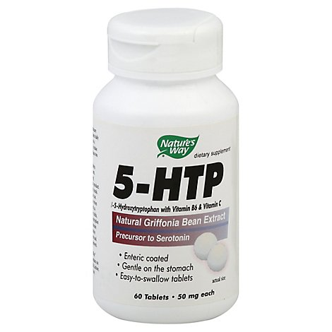 Natures Way 5-Htp 50 Mg Tablets - 60 Count