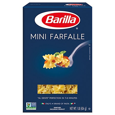 Barilla Pasta Farfalle Mini No. 364 Box - 16 Oz