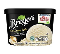 Breyers Ice Cream Original Extra Creamy Vanilla - 48 Oz