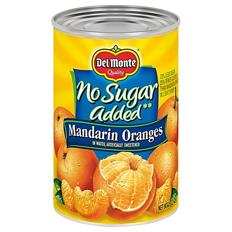 Del Monte Mandarin Oranges No Sugar Added - 15 Oz