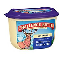 Challenge Butter Spreadable with Canola Oil & Sea Salt - 15 Oz