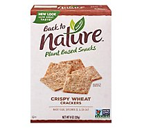 back to NATURE Crackers Crispy Wheat - 8 Oz