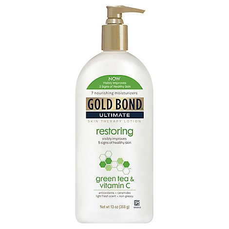 GOLD BOND Ultimate Lotion Skin Therapy Restoring CoQ10 - 13 Oz