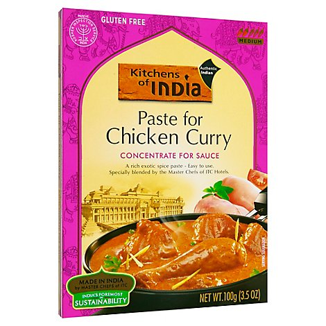 Kitchens Of India Chicken Curry Paste - 3.5 Oz