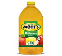 Motts Juice 100% Apple Original - 128 Fl. Oz.