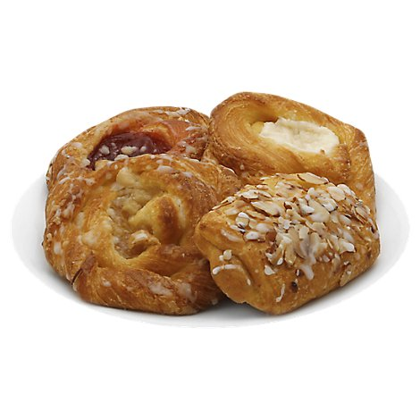 Bakery Danish Variety 4 Count - Each