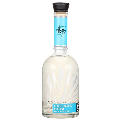 Milagro Tequila Select Barrel Reserve Silver 80 Proof - 750 Ml