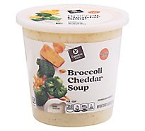 Signature Cafe Broccoli & Cheddar Soup - 24 oz.