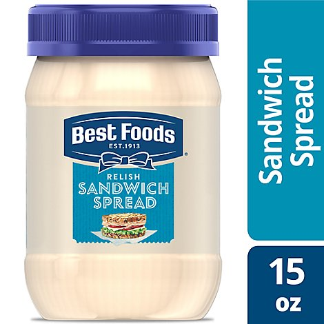 Best Foods Sandwich Spread Relish - 15 Oz