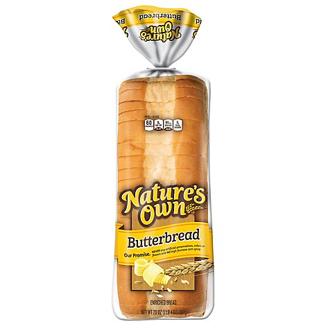 Natures Own Butterbread - 20 Oz