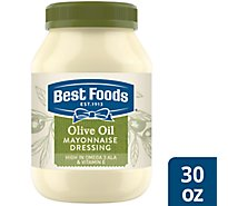 Best Foods Mayonnaise Dressing Olive Oil - 30 Oz