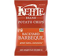 Kettle Potato Chips Backyard Barbeque Sharing Size - 8.5 Oz