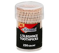 Diamond Toothpicks L Elegance Cup - 250 Count