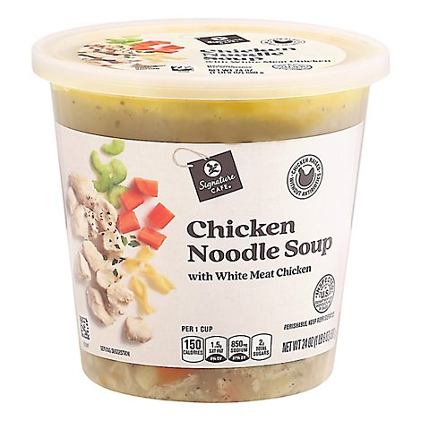 Signature Cafe Chicken Noodle Soup - 24 Oz.