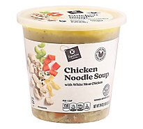 Signature Cafe Soup Chicken Noodle Chunky - 24 Oz