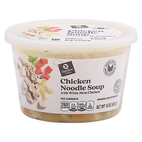 Signature Cafe Chicken Noodle Soup - 15 Oz.